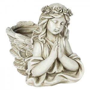 Statue Ange Pot de Fleur
