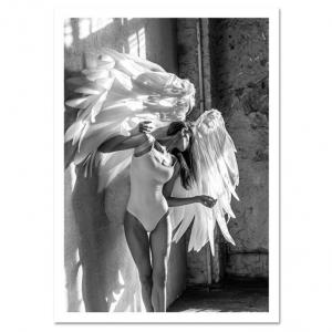 Poster Ange Femme