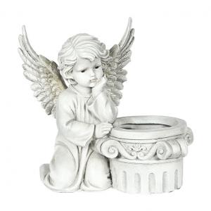 statue ange jardin