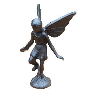Statue ange en métal