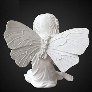 Statue Ange Femme de Dos