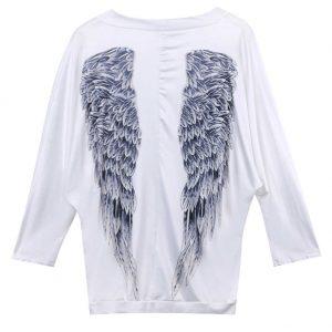pull ailes d'ange femme